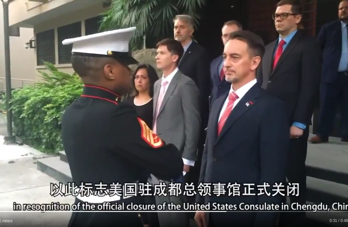 Chinese nationalists call online for more retaliation measures against US diplomacy that targets Beijing · Global Voices