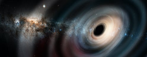 Could we extract energy from a black hole? Our experiment verifies old theory