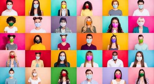The science of how you sound when you talk through a face mask