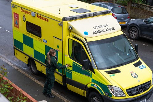 The mental health impact on ambulance staff of responding to suicide calls