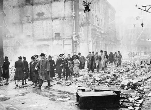 Why Londoners in the blitz accepted face masks to prevent infection – unlike today's objectors