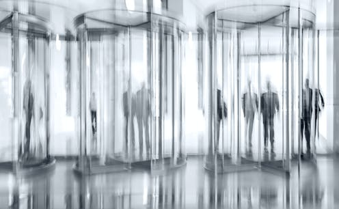 There is a revolving door between industry and regulators, but does that really make for a 'cosy relationship'?