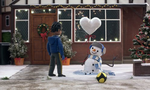 Why there's no COVID in this year's Christmas ads
