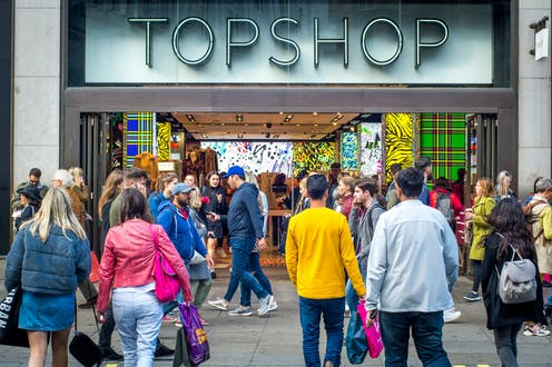 Topshop: how the once trendsetting brand fell behind the times