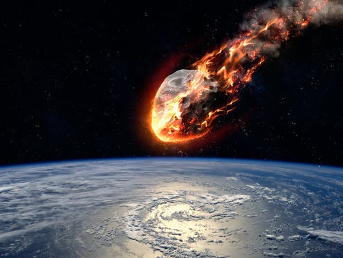 Scientists have found dust from the asteroid that wiped out the dinosaurs inside the crater it left