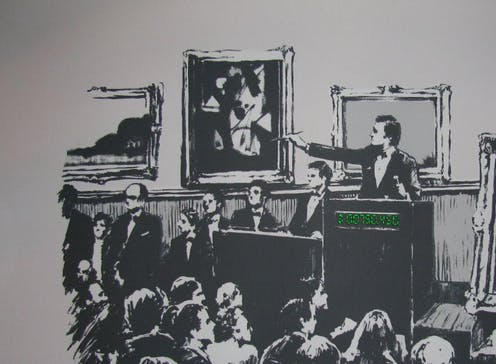 NFT art: the bizarre world where burning a Banksy can make it more valuable