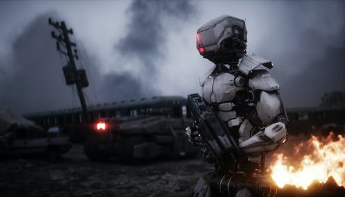 Militaries plunder science fiction for technology ideas, but turn a blind eye to the genre's social commentary